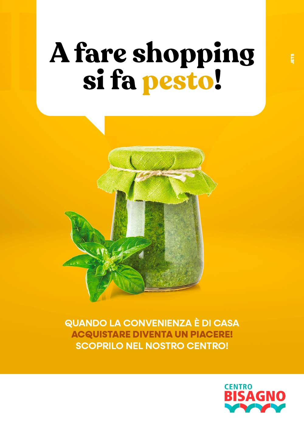 A fare lo shopping si fa pesto!